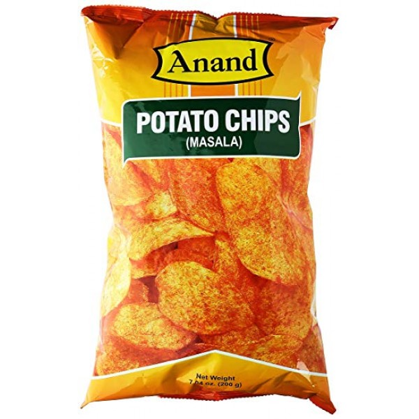 Anand Potato Chips Masala 7 Oz / 200 Gms