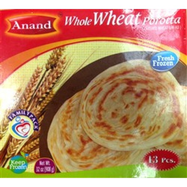 Anand Whole Wheat Porotta 13 Pieces / 908 Gms