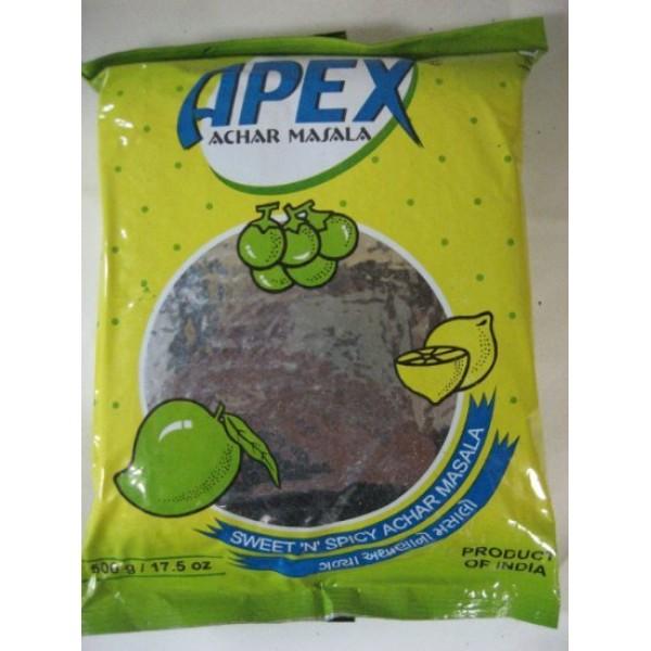 Apex Achar Sweet & Spicy 17.5 Oz / 500 Gms