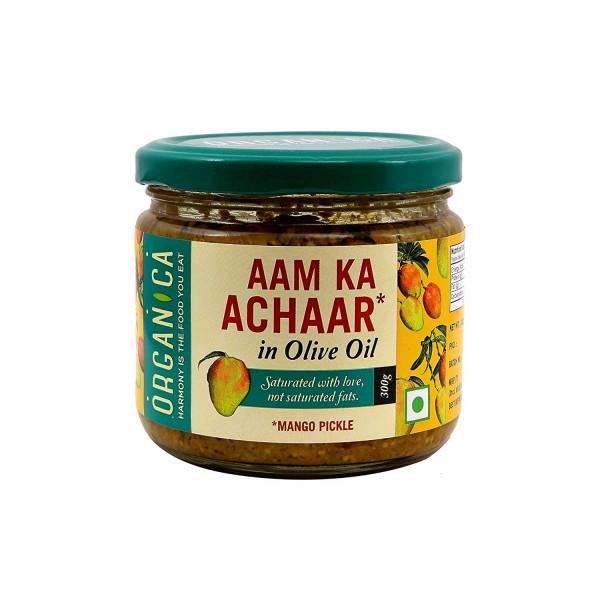 Ashoka Carrot Pickle in Olive Oil 10.6 Oz / 300 Gms