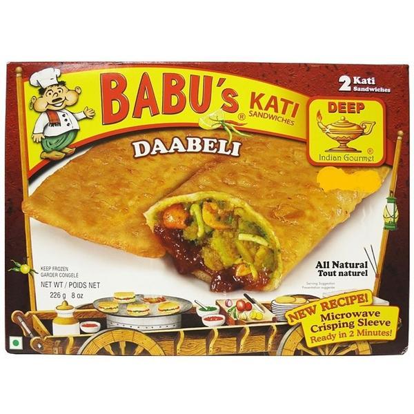 Babu's Kati Daabeli 2 Pieces / 226 Gms