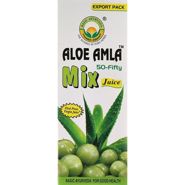 Basic Ayurveda Aloe Amla 16 oz / 480 ml