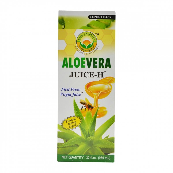 Basic Ayurveda Aloevera Sugarfree Juice 32 oz / 960 ml