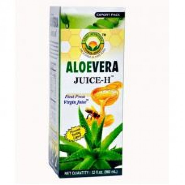 Basic Ayurveda Aloe vera Health Juice 33.8 Oz / 960 ml