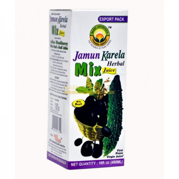 Basic Ayurveda Jamun Karela Mix 16 oz / 480 ml