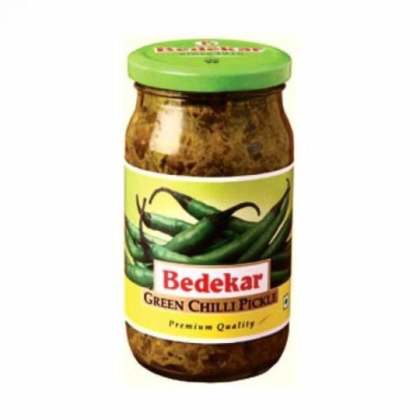 Bedekar Green Chilli Pickle 14 Oz / 400 Gms