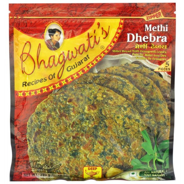 Bhagwati's Methi Dhebra 5 pieces