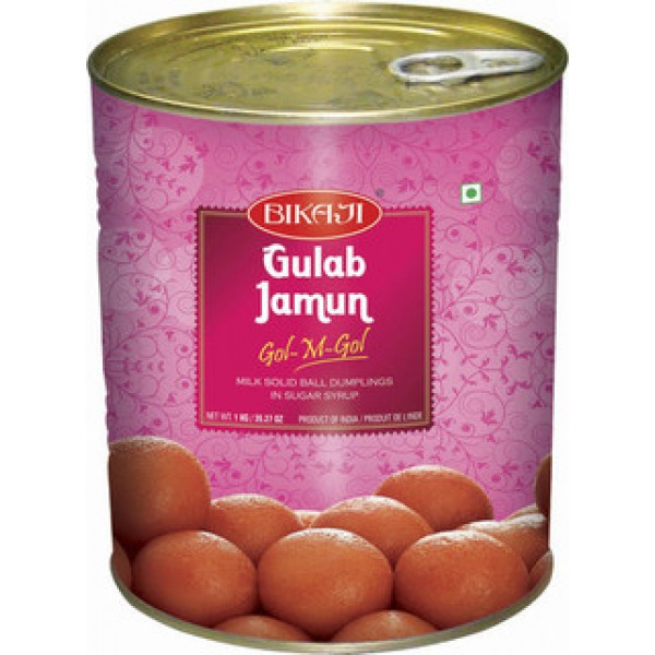 Bikaji Gulab Jamun 15 Pieces / 750 Gms