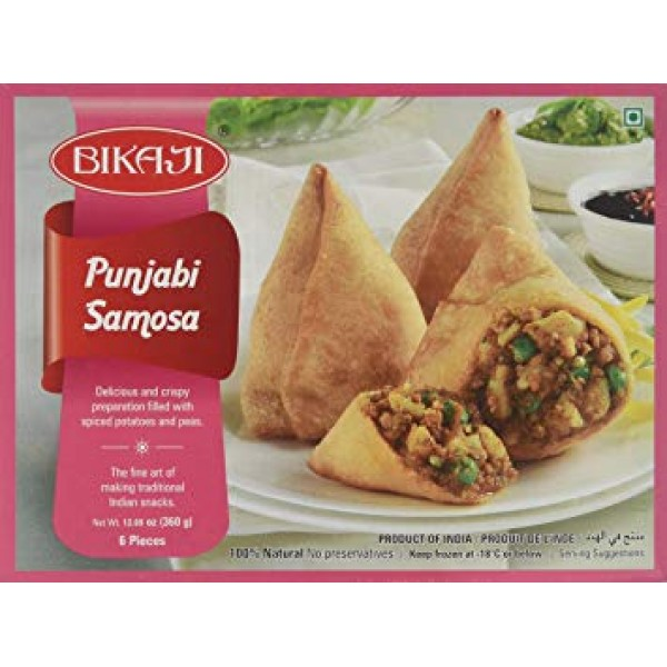 Bikaji Punjabi Samosa 6pieces