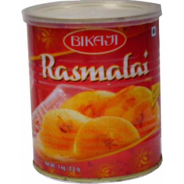 Bikaji Can Rasmalai 20 Pieces 1 Kg
