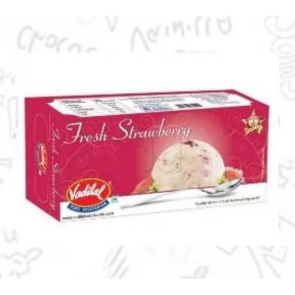 Vadilal Strawberry Ice Cream 1 L