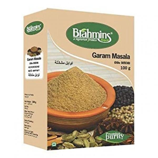 Brahmins Garam Masala 3.5 Oz / 100 Gms