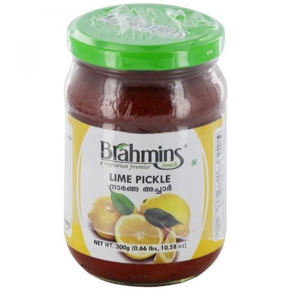 Brahmins Lime Pickle 10.5 Oz / 300 Gms