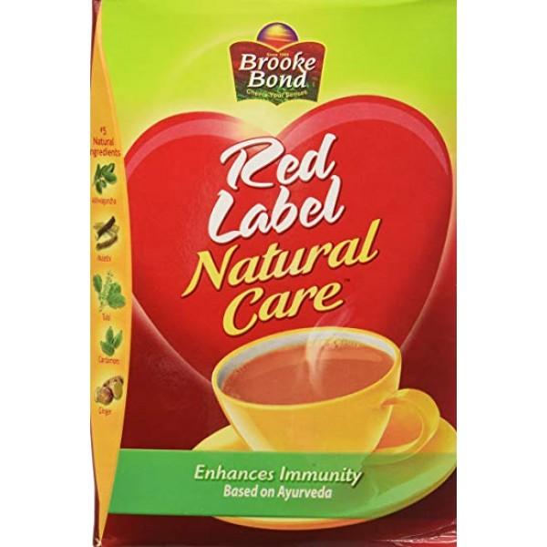 Brooke Bond Red Label Natural Care 17.5 OZ / 496 Gms