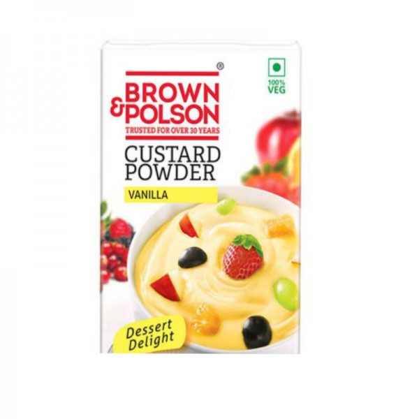 Brown and Polson Custard Powder Vanilla 100 Gms