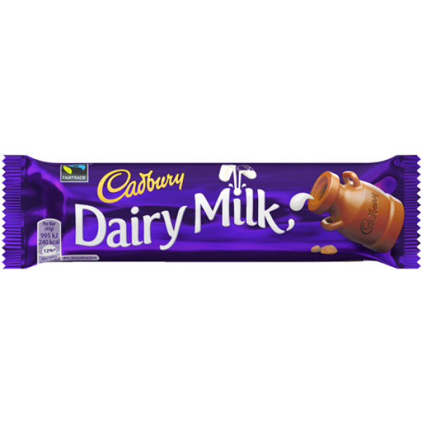 Cadbury Dairy Milk 45 Gms