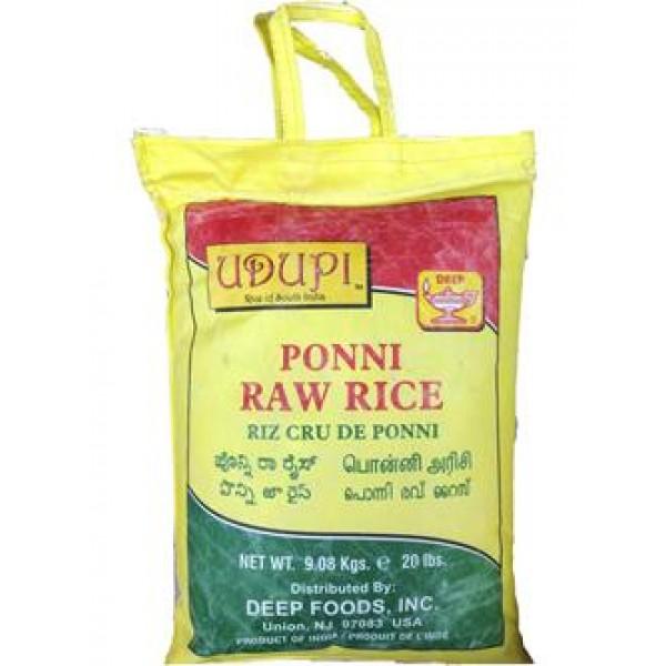 Udupi Ponni Raw Rice 20lb