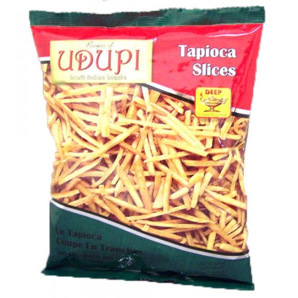 Udupi Tapioca Slices 7 Oz / 200 Gms