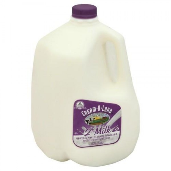 Cream-o-land Milk 2% - 1 Gallon