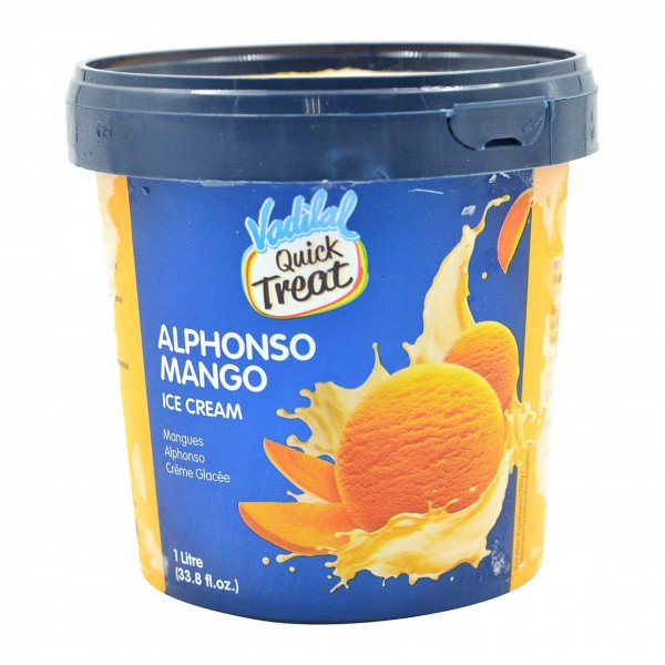 Vadilal Alphonso Mango Ice Cream 1 L