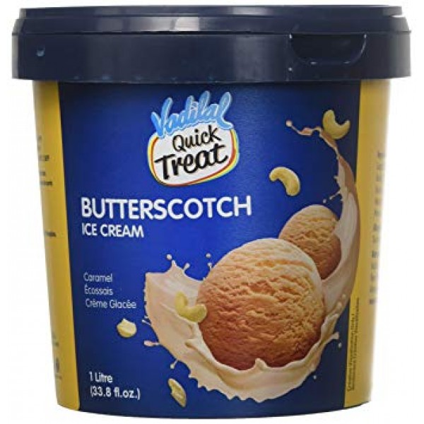 Vadilal Butter Scotch Ice Cream 1 L
