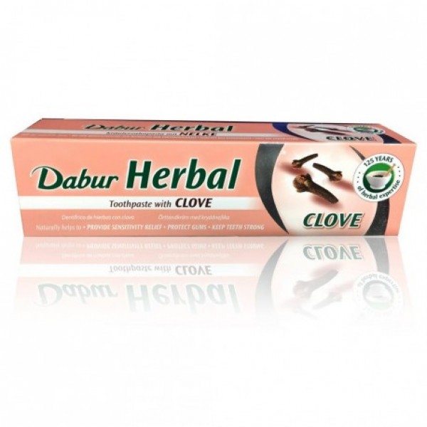 Dabur Herbal Toothpaste Clove 200 Gms