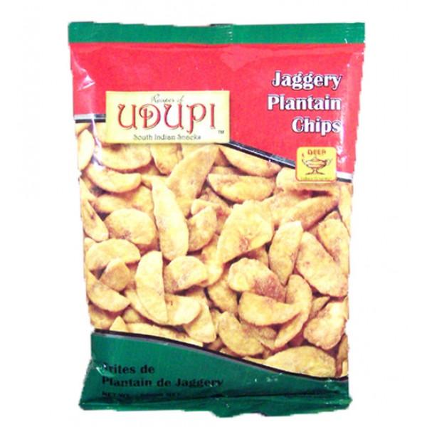 Udupi Jaggeri Plantain Chips 7 Oz / 200 Gms