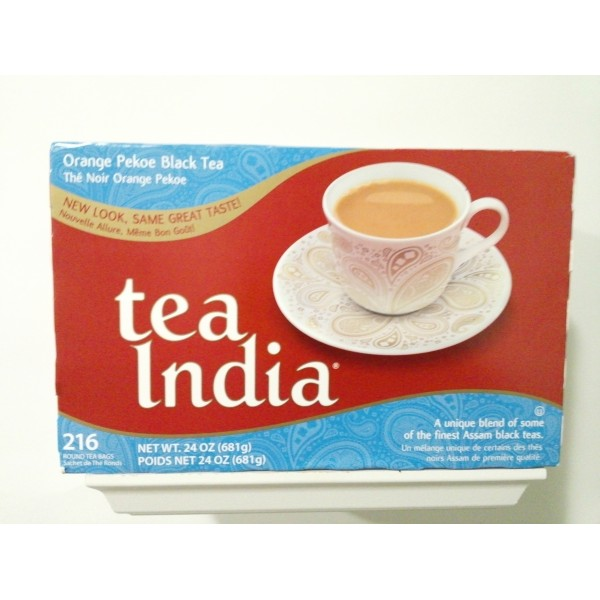 Tea India Orange Pekoe Black Tea 8 OZ / 680 Gms