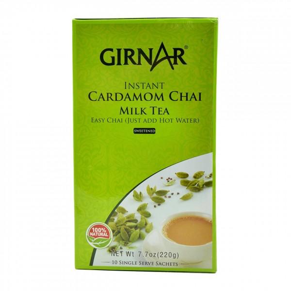 Girnar Instant Cardamom Chai 7.7 oz / 220 Gms 10 Single Sachets