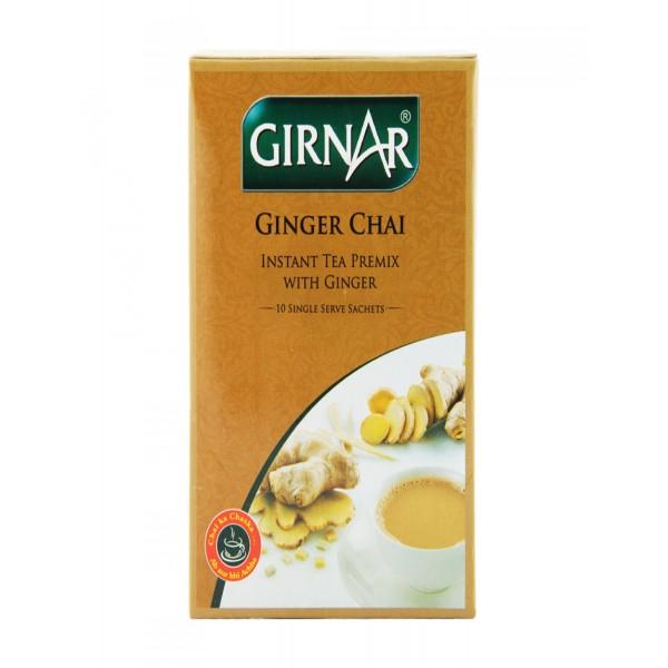 Girnar Instant Ginger Chai 7.7 oz / 220 Gms 10 Single Sachets