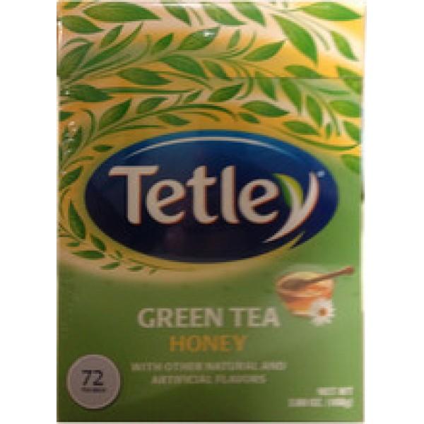 Tetley  Green Tea Honey   Tea 5.08 OZ / 144 Gms 72 tea bags