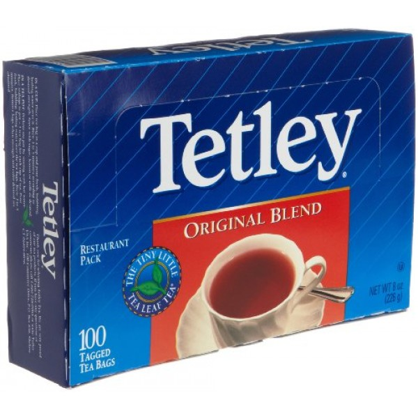 Tetley  Original Blend Tea 100 Tea Bags