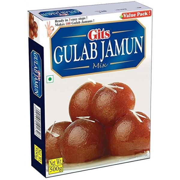 Gits Gulab Jamun Mix 17.5 OZ / 500 Gms