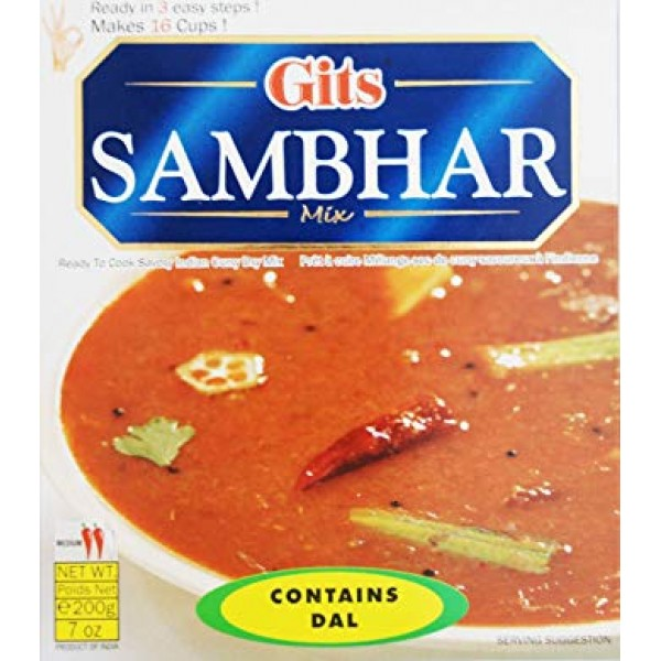 Gits Sambhar Mix 7 Oz / 200 Gms