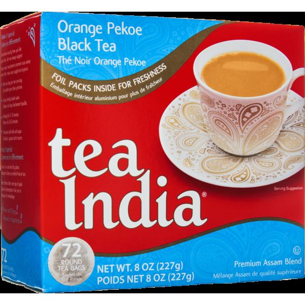 Tea India Black Tea 72 bags