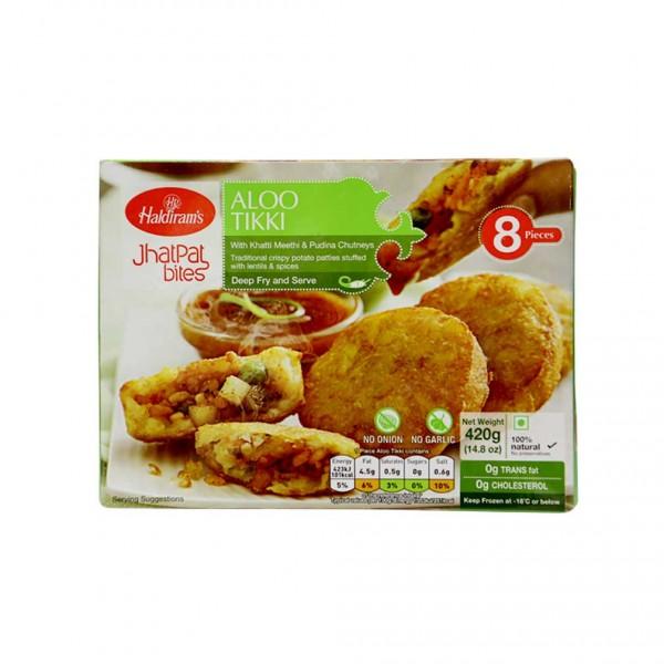 Haldiram's Aloo Tikki 8 Pieces 420 Gms