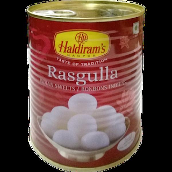 Haldiram's Rasgulla 35.28 OZ / 1000 Gms