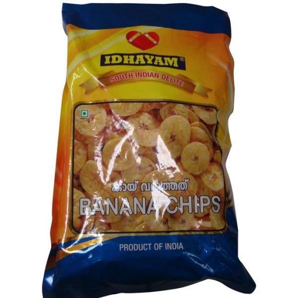 Idhayam Banana Chips 12 Oz / 340 Gms