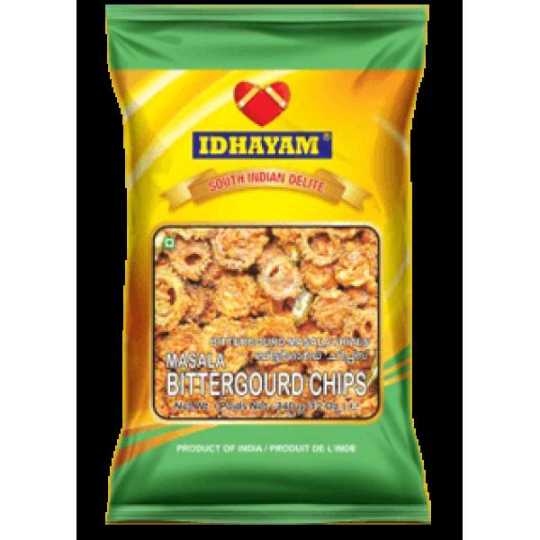 Idhayam Masala Bittergourd Chips 12 Oz / 340 Gms