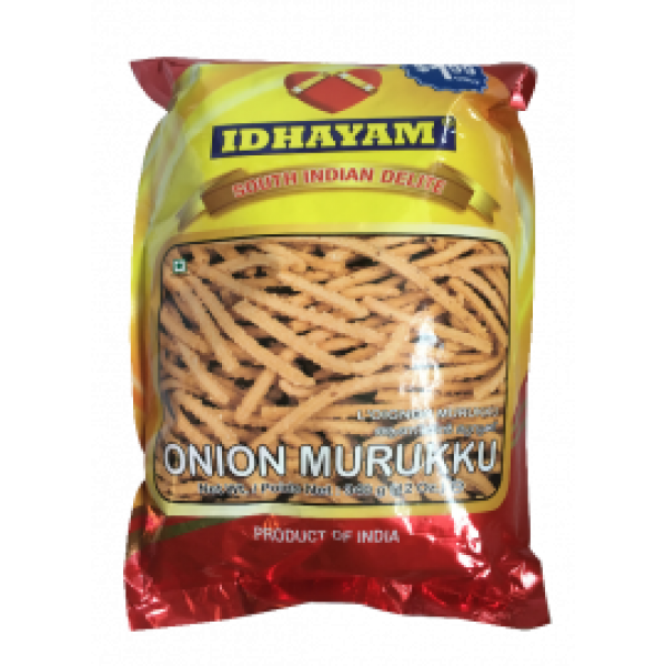 Idhayam Onion Murukku 12 Oz / 340 Gms