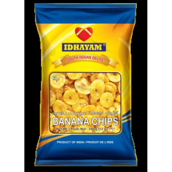 Idhayam Paper Banana Chips 12 Oz / 340 Gms