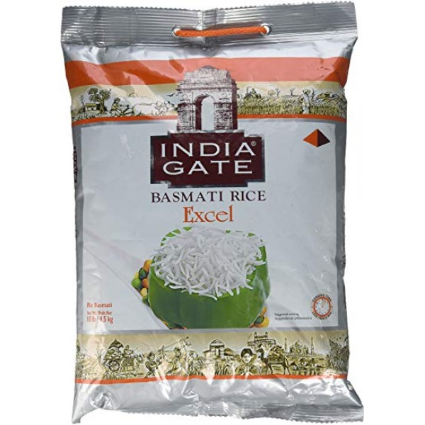 India Gate Basmati Rice Excel 10lb