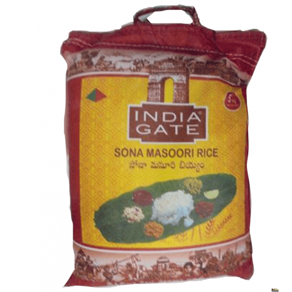 India Gate Sona Massori Rice 20 LB