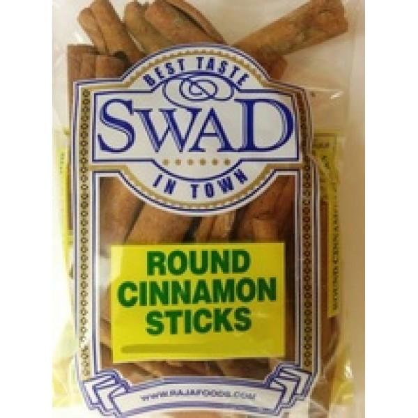 Swad Cinnamon Stick Round  7 Oz / 200 Gms