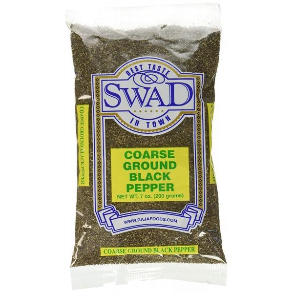 Swad Coarse Ground Black Pepper 7 Oz / 200 Gms