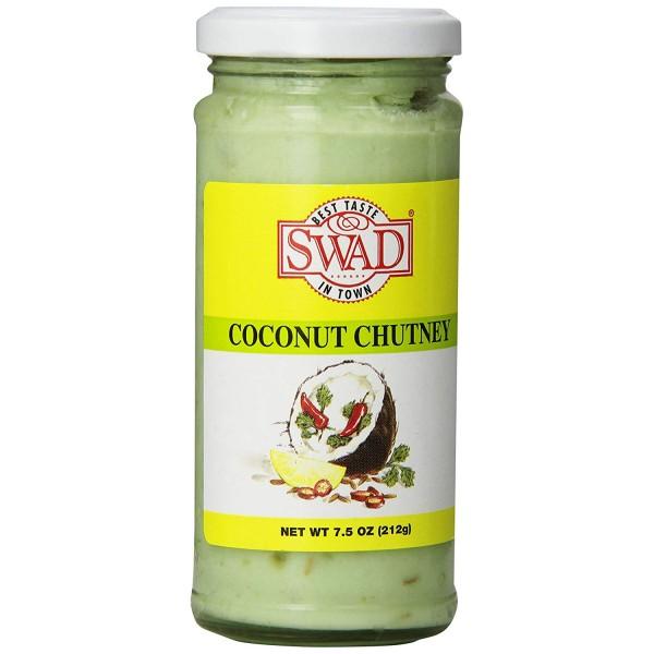 Swad Coconut Chutney 7.8 Oz / 212 Gms