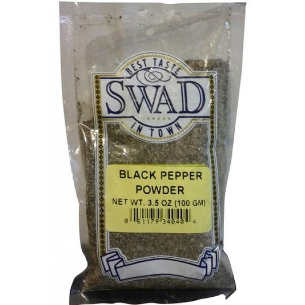 Swad Black Pepper Powder 3.5 Oz / 100 Gms