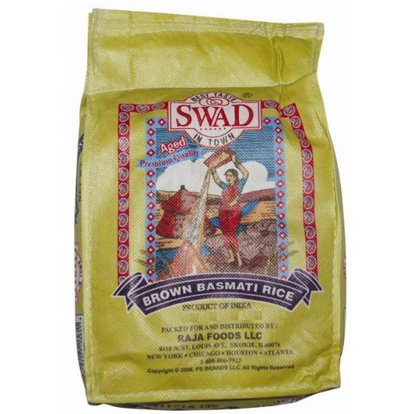 Swad Brown Basmati Rice 10lb