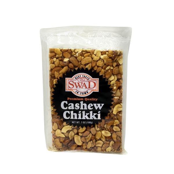 Swad Cashew Chikki 7 Oz / 200 Gms