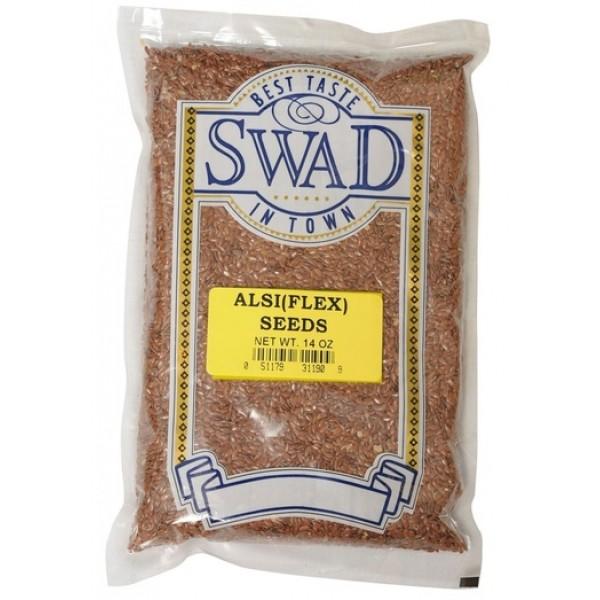 Swad Alsi Seed 14 oz / 400 Gms